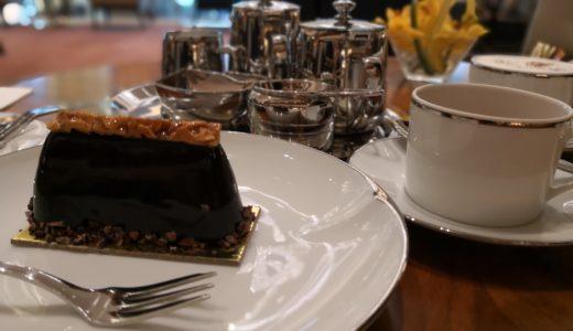 【アフタヌーンティ】ケーキがどーん!BGCのGrand Hyattでお茶してきた