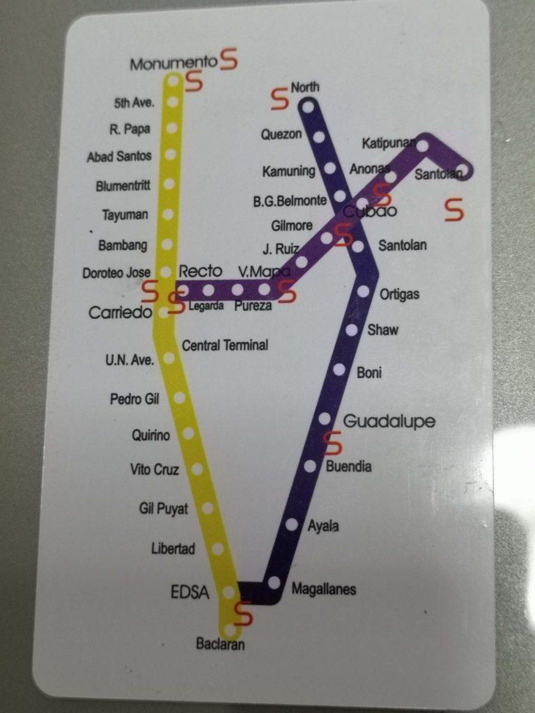 MRT route