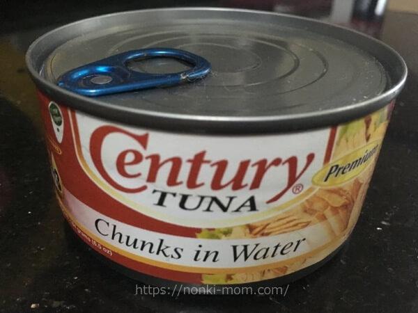 ツナ缶水煮 フィリピン食材で気軽に離乳食を♪