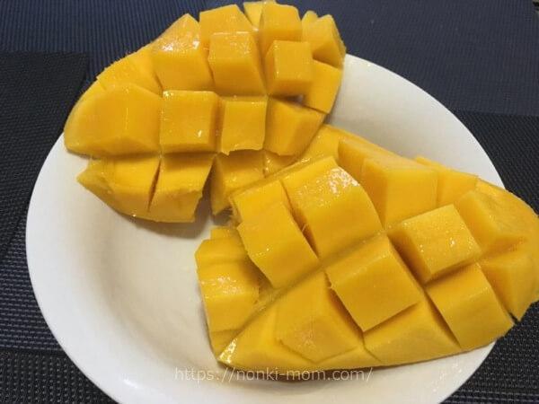 マンゴー フィリピン食材で気軽に離乳食を♪