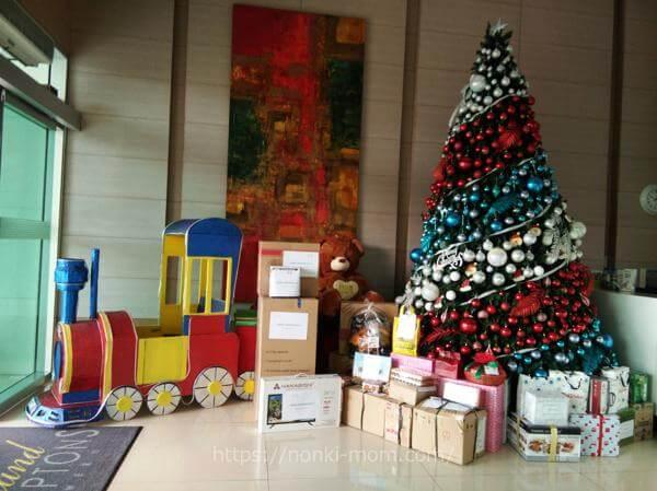 フィリピン クリスマスプレゼント