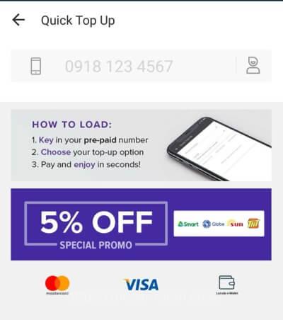 フィリピンでお得&手軽に携帯電話料金をチャージ♪5〜10%割引でスマホアプリからLoadを購入する方法