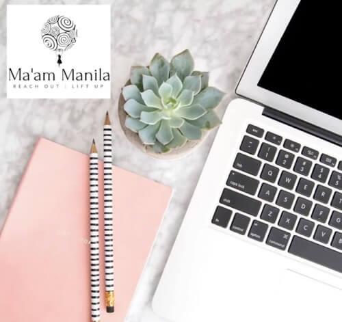 Ma'am Manila top