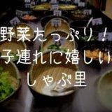 【SHABURI・しゃぶ里】マニラで野菜補給ならここ!子連れに嬉しいしゃぶしゃぶ食べ放題