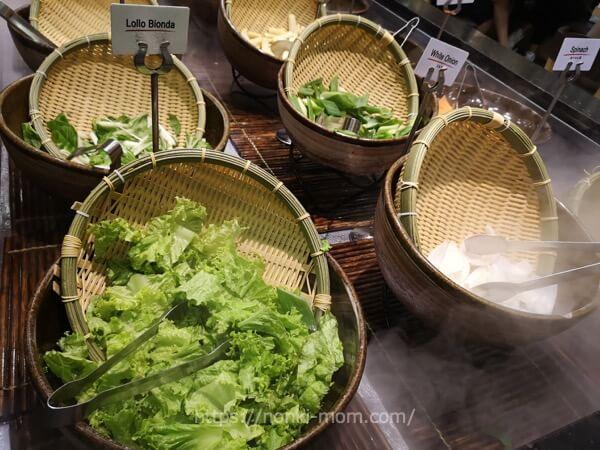 しゃぶ里お野菜