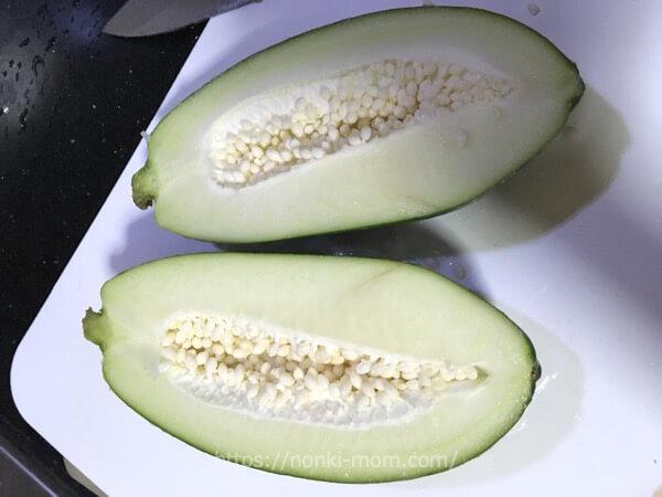 フィリピンのお野菜 グリーンパパイヤ