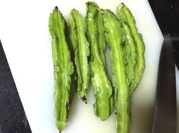 フィリピンお野菜 四角豆・シガリリヤス(Sigarilyas)