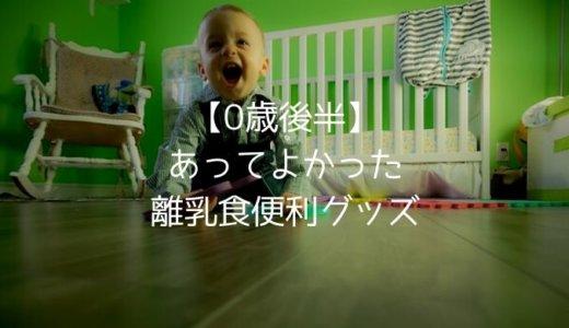 【0歳6ヶ月〜1歳】日本から持ち込んだもの・マニラで買ってよかったもの2〜離乳食便利グッズ