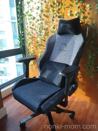 SECRETLAB OMEGA 椅子全体図